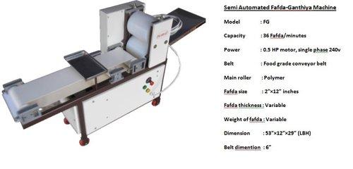 Fafda Making Machines