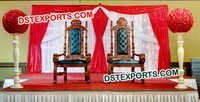 Indian Wedding Maharaja Chairs Set