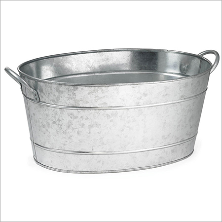 Metal Wine Tub