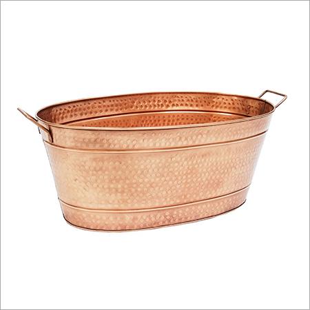 Copper Galvanized Bucket