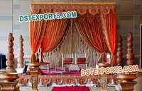 Wedding Heavy Embrodried Drapes