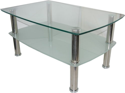glass-chrome-coffee-table