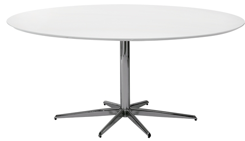 white-meeting-dining-table