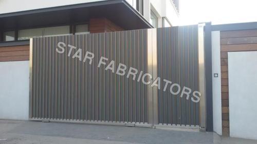 Wooden Aluminium Gate