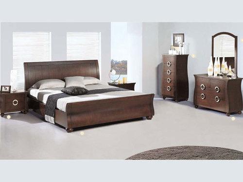 Pure Solid Wooden Bedroom Set