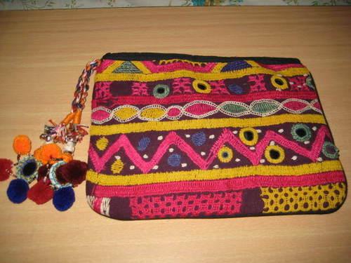 handmade vintage embroidered bag