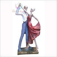 Antique Couple Sculpture