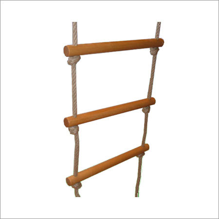 Wooden Safety Ladder