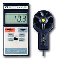 Vane Anemomter With Temperature Dealers