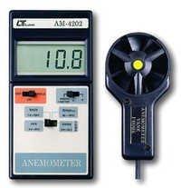 Vane Anemomter With Temperature Dealers