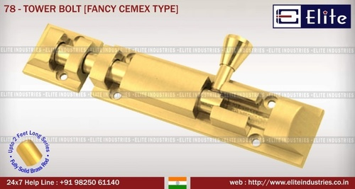 Tower Bolt Fancy Cemax Type