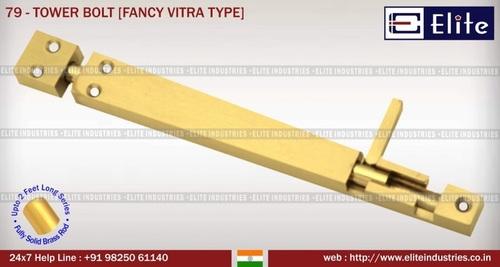 Tower Bolt Fancy Vitra Type