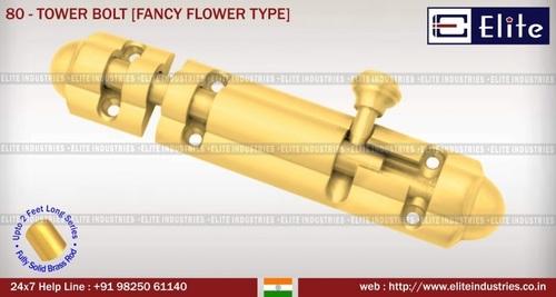 Tower Bolt Fancy Flower Type