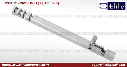 Square Type SS Hinges
