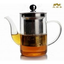 Glass Tea Pot 200ml. With Strainer