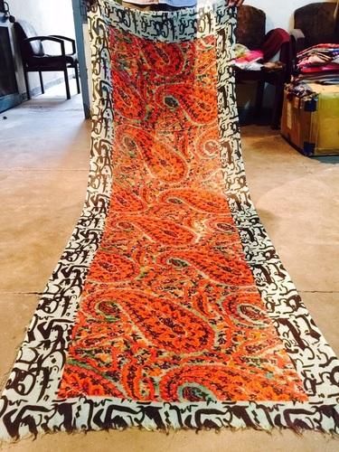 Cashmere Paisley with Arabic Border