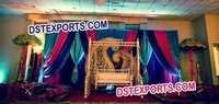 MUSLIM WALIMA STAGE SET
