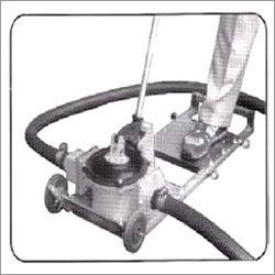 Solvent hand diaphragm pump