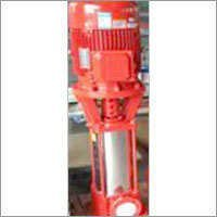 Fire fighting vertical multistage pump