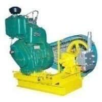 High pressure plunger pump with engine and trolly