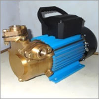High pressure rotary vane pump