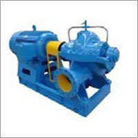 Horizontal axially double suction split casing centrifugal pump