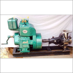 SS Chemical centrifugal back pull out engine driven coupled pump