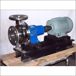 SS (Stainless steel) Centrifugal Back pull out Bare shaft Coupled pump