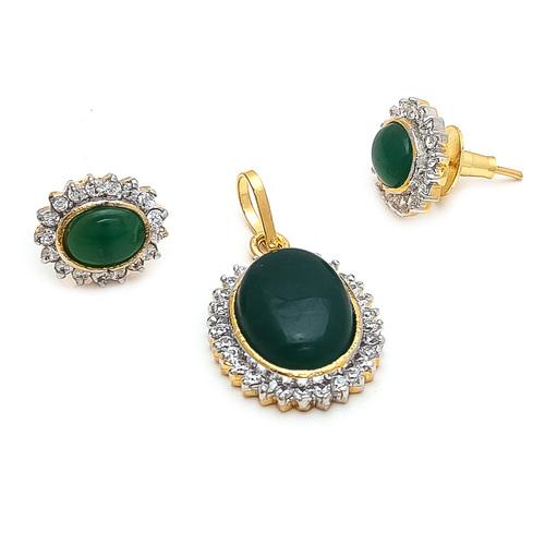 Imitaion AD Jewellery Set