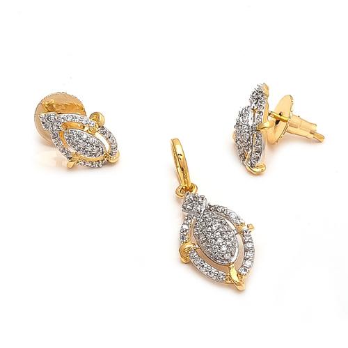 AD Jewellery Pendant Set