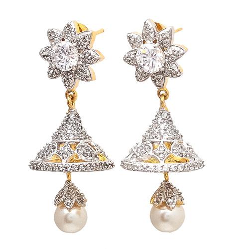 Artificial Pearl Jhumka Earring