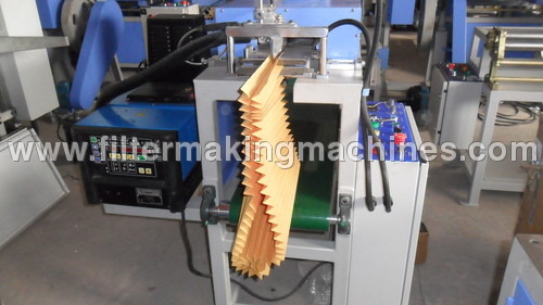 Pleat Edge Sealing Machine