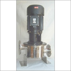 SS vertical single stage centrifugal pump