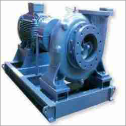 Mix Flow Bare Shaft Coupled Pump With Motor And Base Frame Coupling