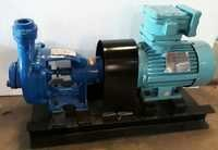 Self priming cum centrifugal mud bare shaft coupled pump