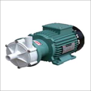Sealless magnetic drive chemical process pump in PP Contrucion
