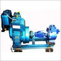 Self priming centrifugal mud bare shaft coupled pump
