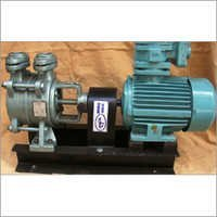 SS self priming bare shaft coupled pump with motor
