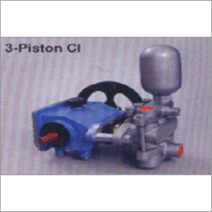 3 Piston Cast Iron pump