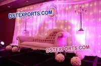 Wedding Decor Crystal Stands