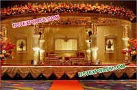 Fiber Crystal Wedding Mandap