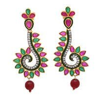 Traditional Peacock Earring