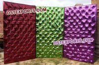 Wedding Stage Colorful Tufted Backdrop Panel