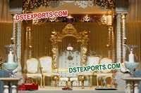 ROYAL HINDU WEDDING STAGE SET