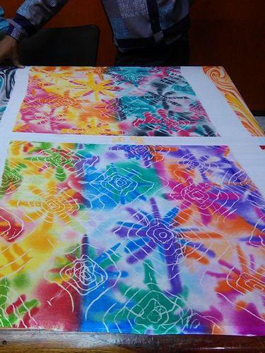 Poly dani hand print