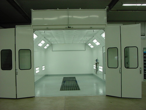 Refinishing Car Paint Booth