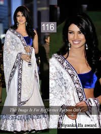 Priyanka chopra bollywood sarees