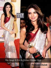 Priyanka chopra bollywood sarees collection