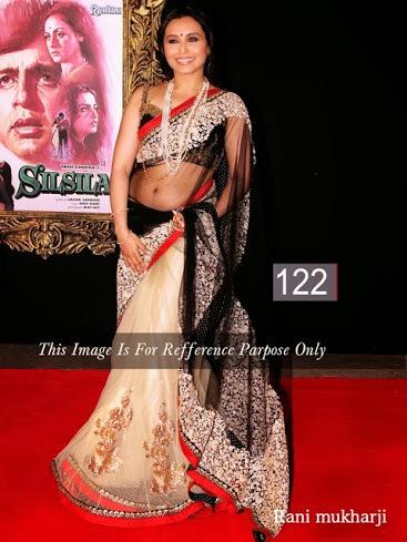 Rani Mukhereji Bollywood sarees