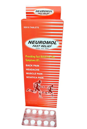 Neuromol Fast Relief Tablet